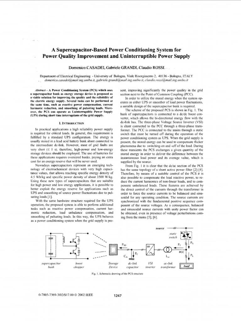 SC1   Capacitor   Power Inverter