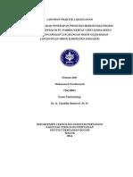 Laporan Praktik lapang Produksi Kertas