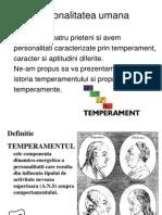 Aplicatie Elev Temperamentul