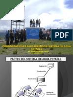 Consid Diseño Agua Potable
