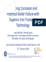 Reducing Corrosion and Potential Boiler Failure With Superior Iron Transport Technology