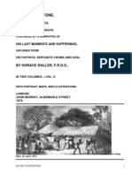 The Last Journals of David Livingstone, in Central Africa, from 1865 to His Death, Volume II (of  2), 1869-1873