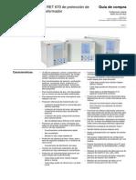1mrk504053-Bes e Es Guia de Compra Ied Ret 670 de Proteccion de Transformador Configuracion Abierta