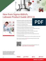 Promo HNZ Sigma Aldrich Labware Guide