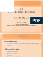 02 Sisprod - Process Selection