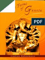 Tantric Forms of Ganesh Gudrun Buhnemann