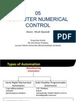 05 Sisprod - Computer Numerical Control