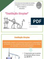 Destilação Simples - Cópia