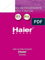 Cursorefrigerante R-407cyr410a Haier