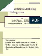 Presentation Marketing Management