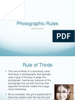 photographic rules