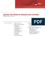 Red Hat Design Patterns in Production Systems