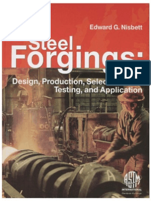 80963539 Steel Forgings Design Production Selection Testing