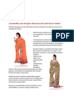 Banarasi Brocade Sarees-A Window to Brocade Fabrics