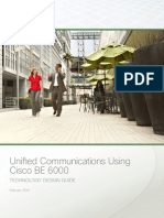 Cisco BE6000 Technology Design 2014