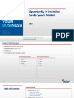 Opportunity in the Indian Sanitaryware Market_Feedback OTS_2014