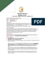 MT 205 Syllabus Fall 2014(1)