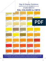 RAL Colour Converter