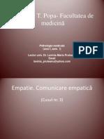 UMF C3 Comunicare Empatie
