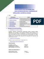 Informe Diario Onemi Magallanes 09.09.2014