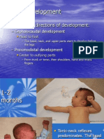 Babyhood - Motor Development