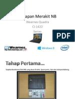 Tahapan Merakit NB - Ci-1422 Series