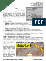 Solargen Exec Summary 2-12-09 (Investor)