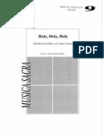 00 Holy, Holy, Holy (Arr. James Curnow) - Partituur (A4)