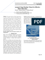 PCB Image Enhancement Using Machine Vision for Effective Defect Detection