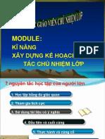 KY NANG XAY DUNG KE HOACH CHU NHIEM thpt.pptx