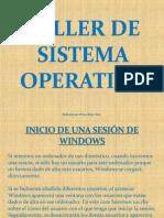 Taller Sistema Operativo
