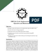 ERP Life Cycle