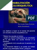 III Clase Rehabilitación MUSCULOESQ 2014