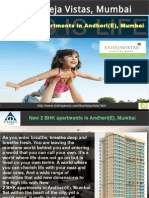 New 2 BHK Apartments in Andheri(E), Mumbai