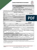 Termo Aditivo Ao TCE Agente de Integracao
