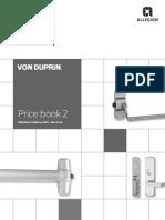 Von Duprin Price Book Oct 2014