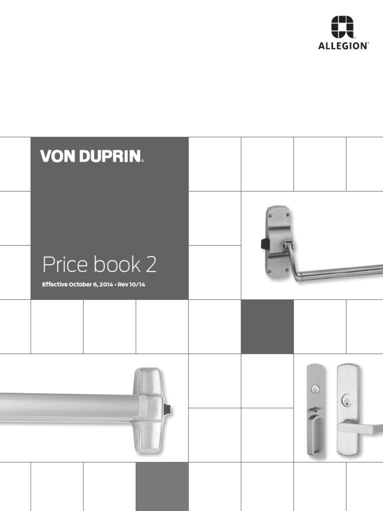 Von Duprin Ps873 Wiring Diagram Free Download Schlage Maglock Price Book Oct 2014 Cargo Business Corporation At
