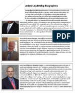 PSE Founders Biographies