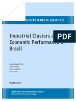 Industrial Clusters and Economic Performance in Brazil