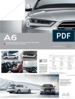 Audi A6, A6 allroad and S6 Product Catalogue (DE)