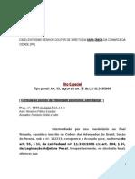 Defesa Preliminar Trafico Drogas Associacao Entorpecentes Liberdade Provisoria Modelo 361 Bc339 2014