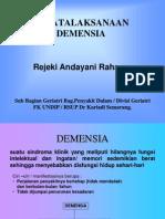Penatalaksanaan Demensia
