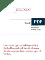 Welding - Grp D