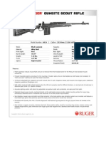 Ruger Gunsite Scout Rifle Spec Sheet
