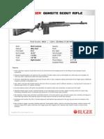 Ruger Gunsite Scout Rifle Spec Sheet
