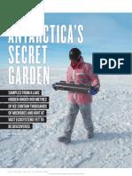 Nature August 2014 - Antarctica's Secret Garden