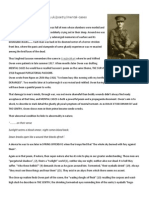Mental Cases by Wilfred Owen Article Analysis