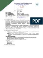1. Comunicación I, Educación Física, Primer Año