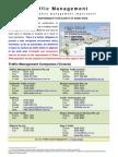 Traffic management Information