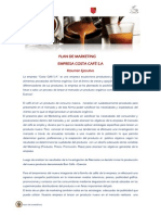Plan de Marketing Costa Café S.A